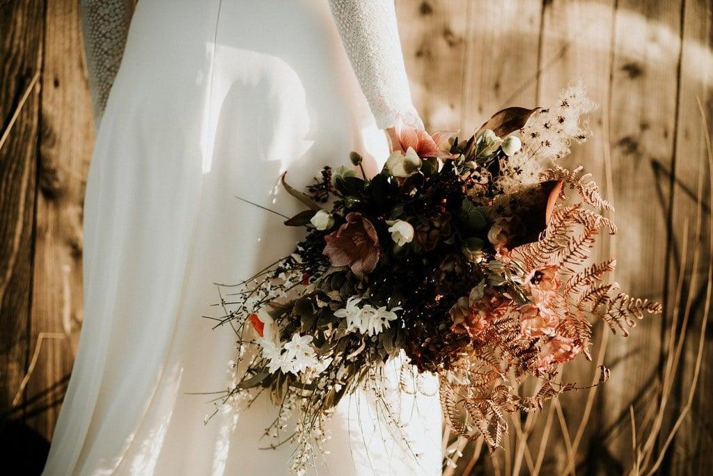 """Bouquet de mariée de la fleuriste """" Atelier Aimer """" - Nantes"""